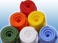 Description: A small sample of the colours we can produce at Jehbco Manufacturing