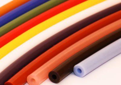 Coloured Silicone Tube